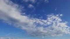 Multiple Altitude Clouds Timelapse 12 - stock footage
