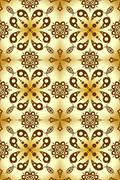 Good-looking seamles pattern. - stock illustration