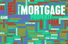 Mortgage - stock illustration