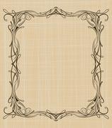 Stock Illustration of decorative vintage background