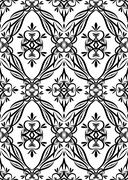 Seamless pattern background Stock Illustration