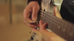 Guitar Solo - stock footage