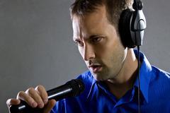 Male Voice Over Artist or Singer Kuvituskuvat