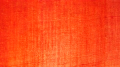 Red cloth waving Arkistovideo