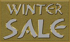 Winter Sales Seasonal Tag Stock Illustration