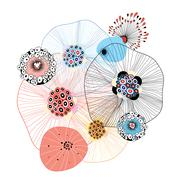 Abstract elements Stock Illustration