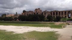 Italy - Rome - Circus Maximus Stock Footage