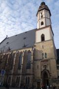 Germany - Leipzig - Thomas Church - stock photo