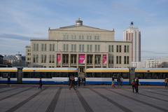 Germany - Leipzig - Opera building - stock photo