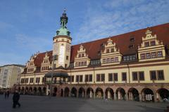 Germany - Leipzig - Old town hall - stock photo