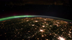 NASA earth - stock footage