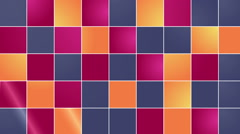 Cubes wall transition (soft color) Stock Footage