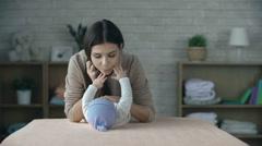 Infant Development - stock footage