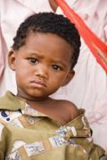 Basarwa child - stock photo