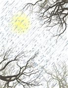 Winter Mood 2 Stock Illustration
