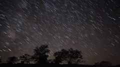 Star Trails - stock footage