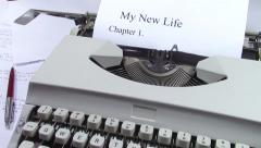 New life chapter Stock Footage