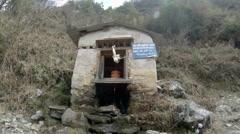 2.7K. Fountain in village. Nepal, Full HD, 2704x1524 Stock Footage