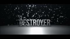 DESTROYER - stock after effects
