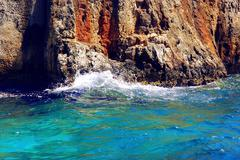 Stock Photo of beautiful blue sea