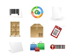Stock Illustration of product concept icon set illustration
