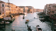 Spring in Venice Stock Footage