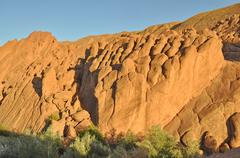 Strange rock formations in Dades Gorge, Morocco, Africa Stock Photos