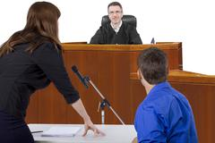 Courtroom Trial Stock Photos