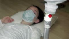 4k, saline, hospital, IV, medical, solution, patient, liquid, medicine, tube, Stock Footage