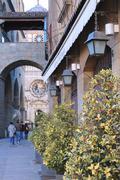 Street of Bergamo Stock Photos