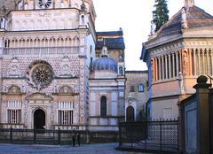 Center of Bergamo Stock Photos