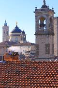 Red Roof Bergamo - stock photo
