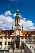 Prague pilgrim place Loreta - stock photo