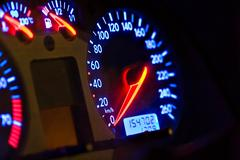 Car gauges Stock Photos