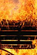 Fire rage - stock photo
