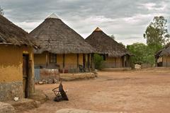 African village Stock Photos