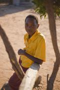 african boy - stock photo