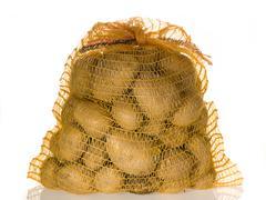 Fresh potatoes Stock Photos