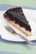 Huckleberry pie - stock photo