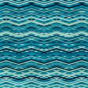 Wave zigzag seamless pattern Stock Illustration