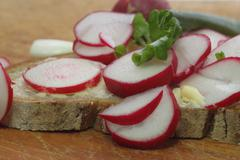 Radish bread, Without people - stock photo