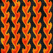 abstract fire seamless - stock illustration
