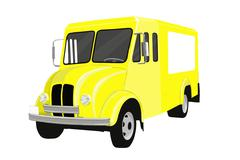 Milk Truck Vector Stock Photos