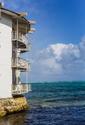 Decameron Aquarium Hotel in San Andres Island Stock Photos