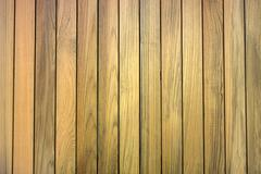 lineup of teak wood for background used - stock photo