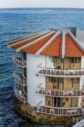 Decameron Aquarium Hotel in San Andres Island - stock photo