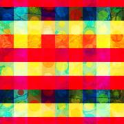 bright grid seamless pattern - stock illustration