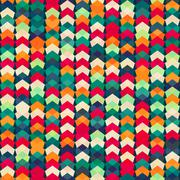Colorful textile seamless pattern Stock Illustration
