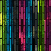 Grunge line seamless Stock Illustration