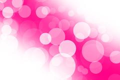 Abstract light blurs in pink - stock illustration